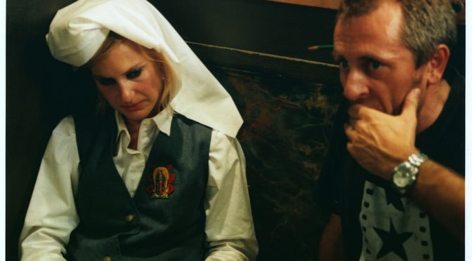 Kirsty Hinchcliffe and Bryan Root on set of Dirty habit